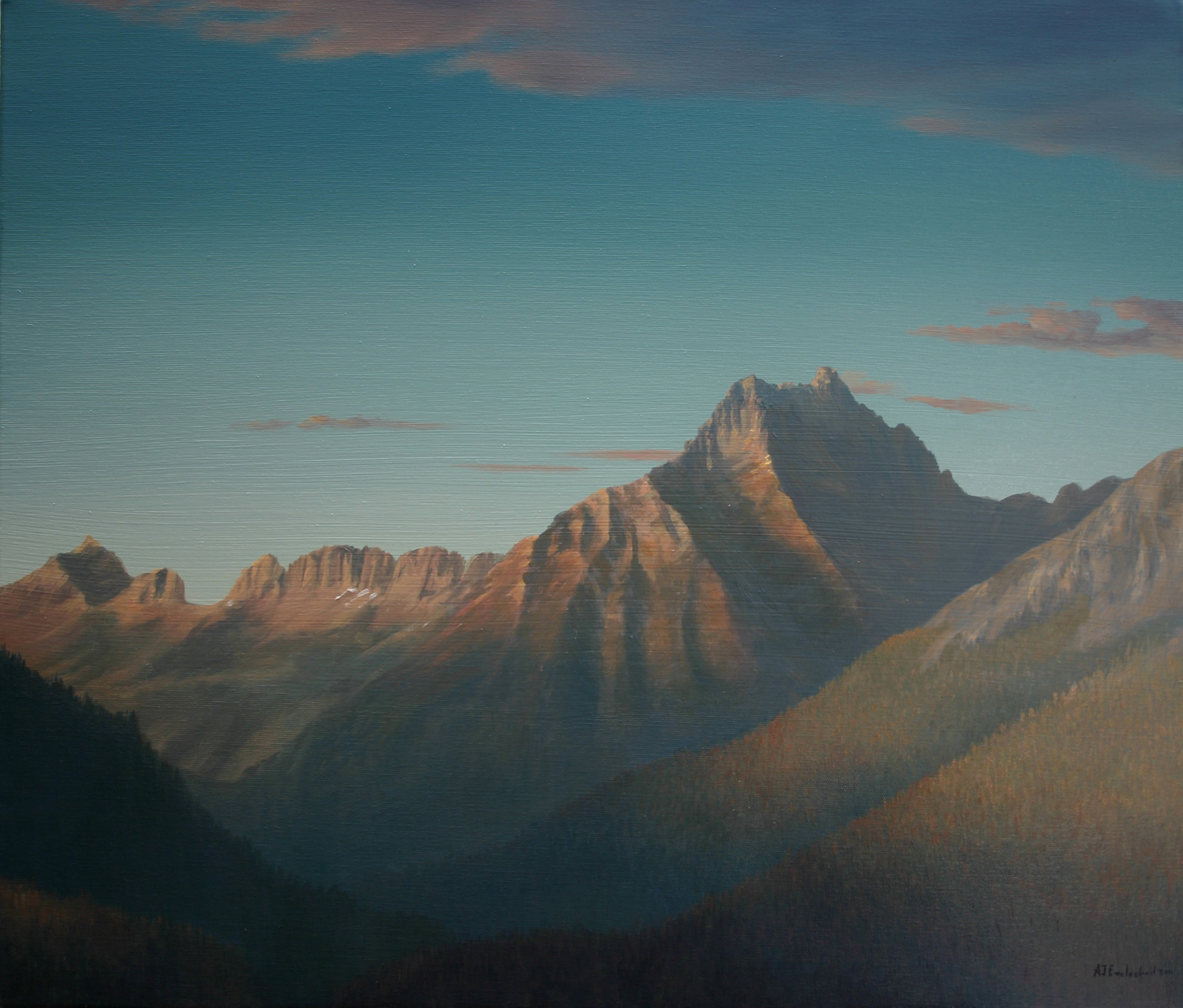 """""""Glacier Park Sunset II"""""""