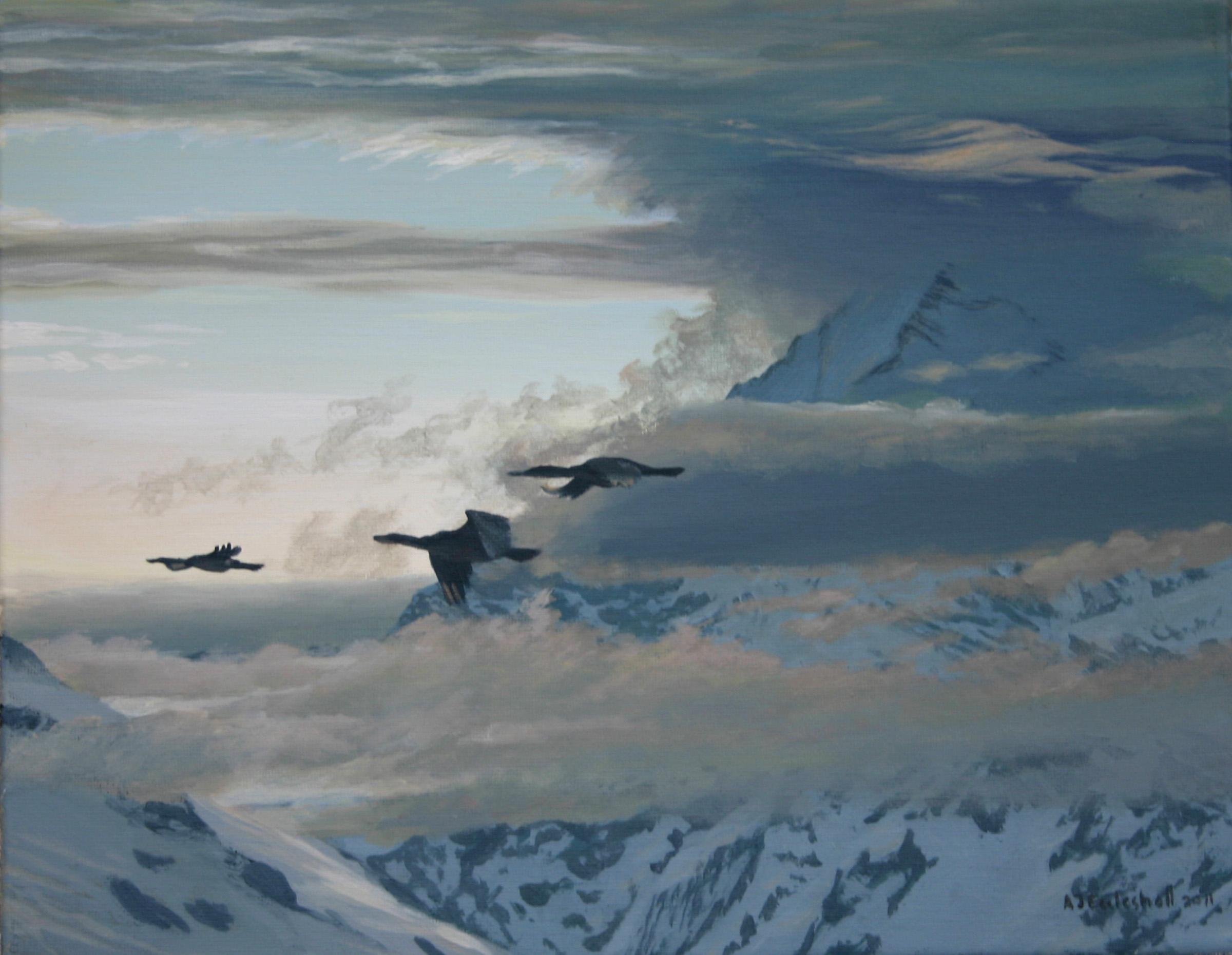 """Morning Flight"" commission"