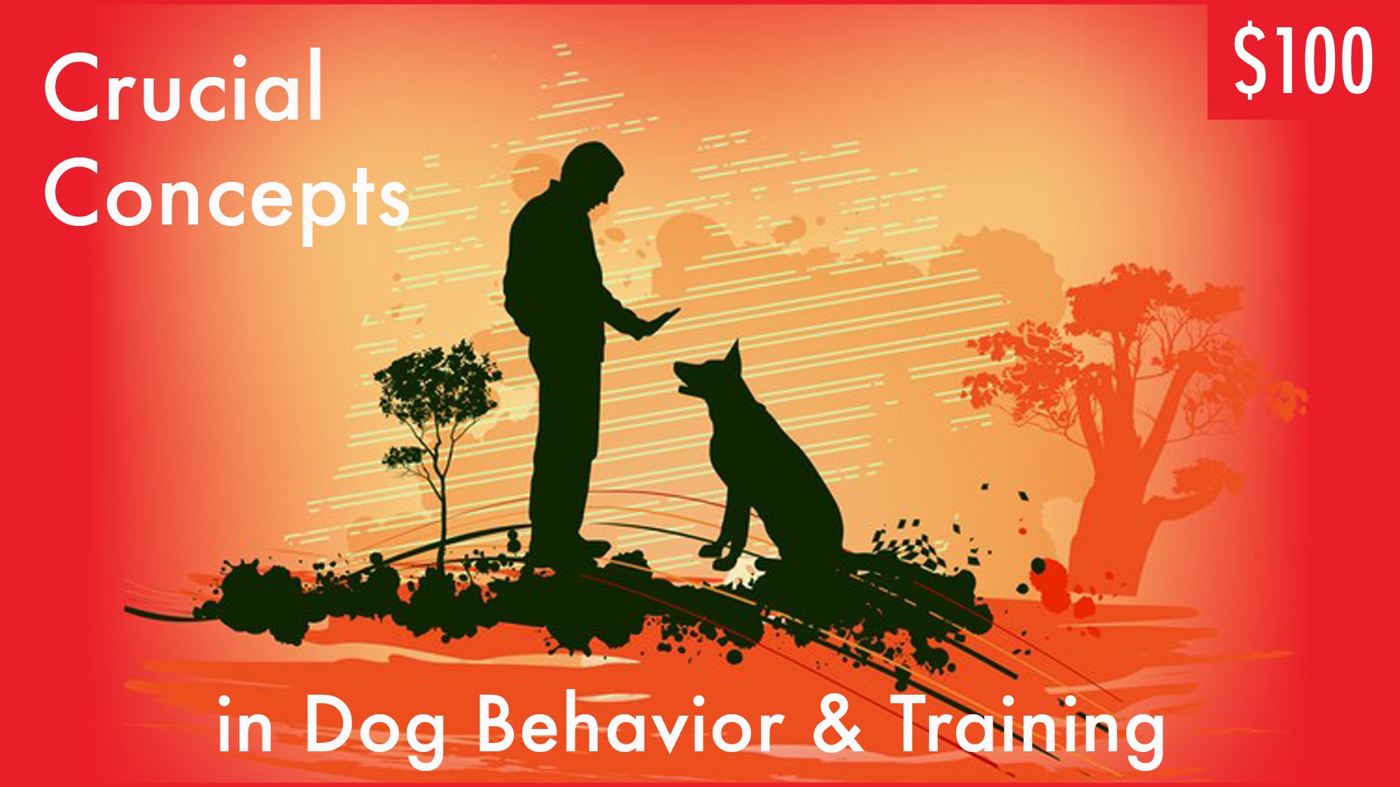 Lecture seminar by Dr. Ian Dunbar. Learn cutting edge and common sense concepts that make dog training incredibly easy and effective. 6 hours of video, 6 CEUs,$100 on Udemy.