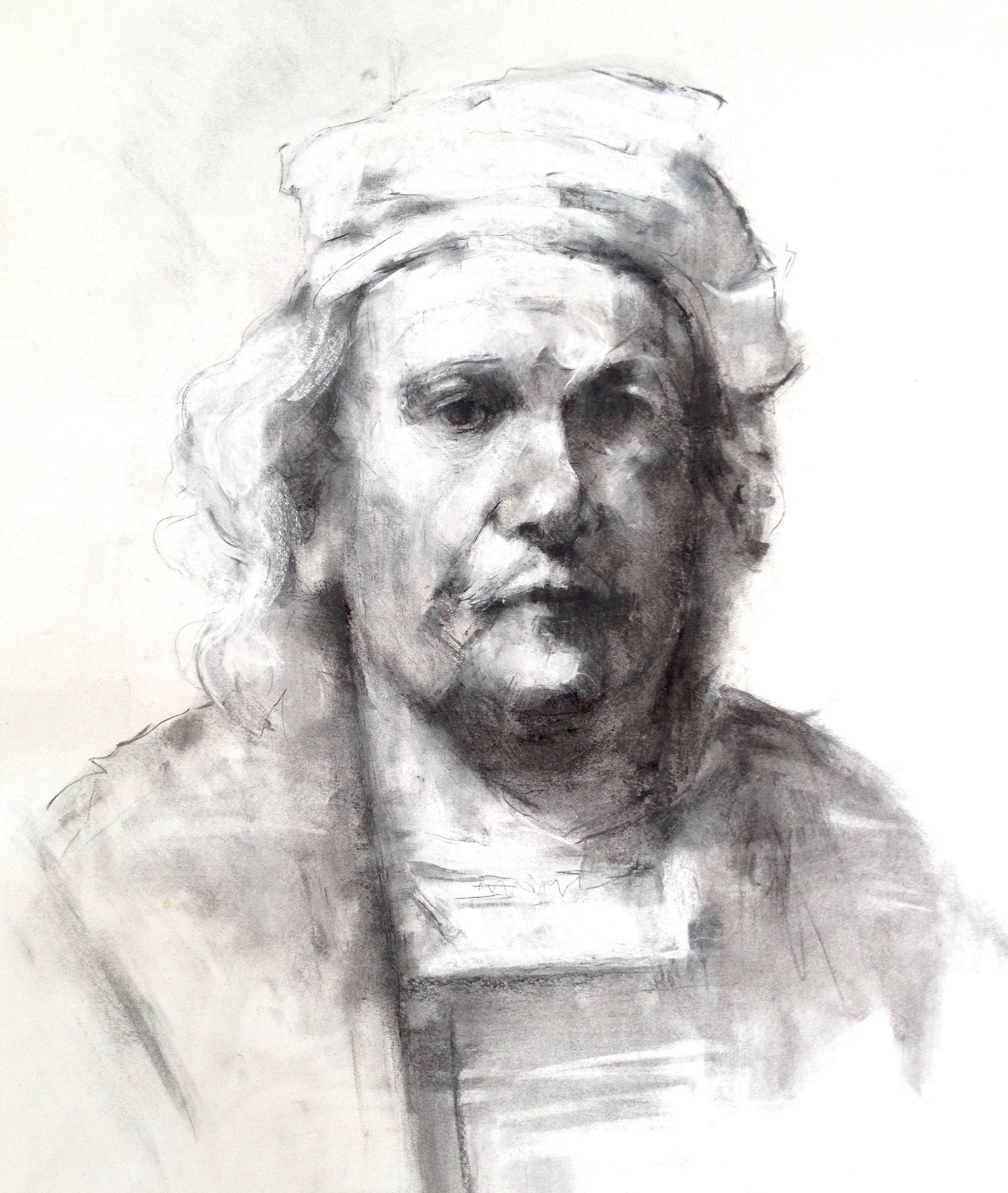 Study of Rembrandt