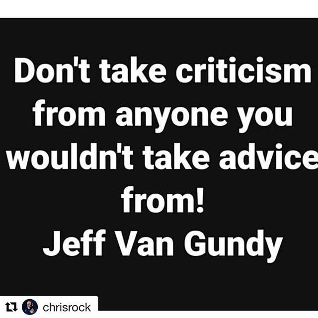 So true, @chrisrock.