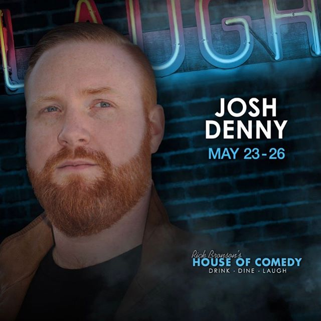 Still three shows left at @houseofcomedymn this weekend! Get your tickets (link in bio) now! #joshdenny #standupcomedy #comedy #minneapolis #livecomedy #mallofamerica #memorialdayweekend