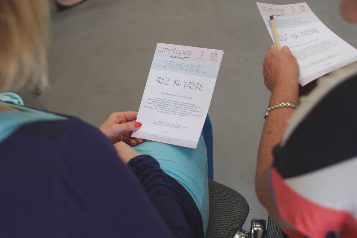 w biuletynie, które każda uczestniczka mogła zabrać do domu, znajdują się najważniejsze informacje z naszego spotkania, warto do nich zaglądać