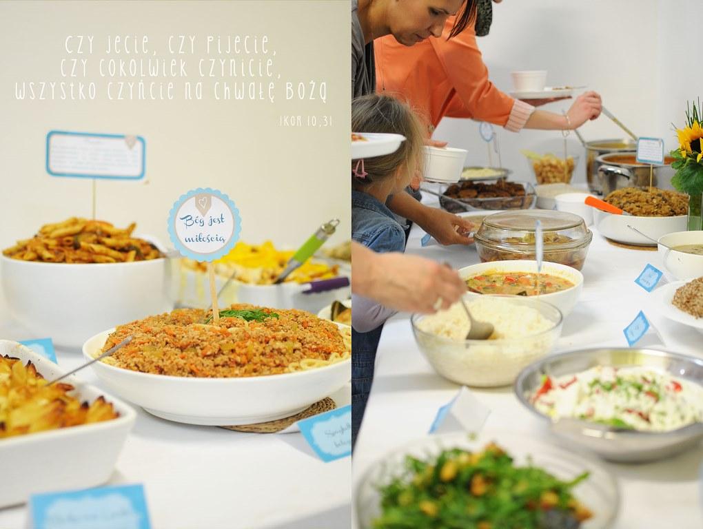 sobotnie nabożeństwo zakończyliśmy wspólnym obiadem - chwała Panu za te wszystkie wspaniałości!