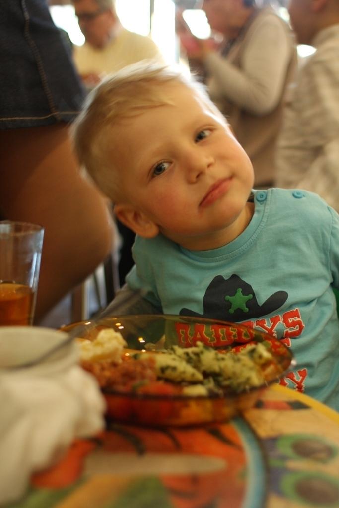 dzieci także się zajadają!
