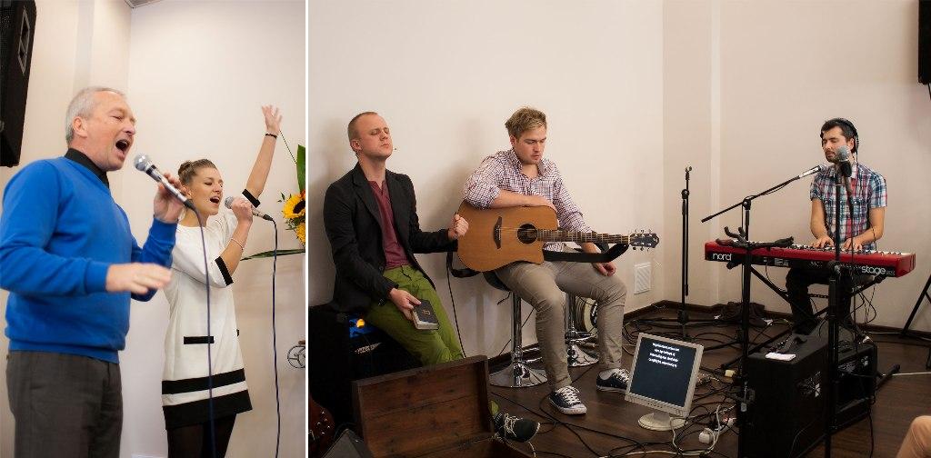zespół był prawie w pełnym składzie, nawet carl nas odwiedził... we miss you guys - dzięki Ci Boże za te dary i talenty :)