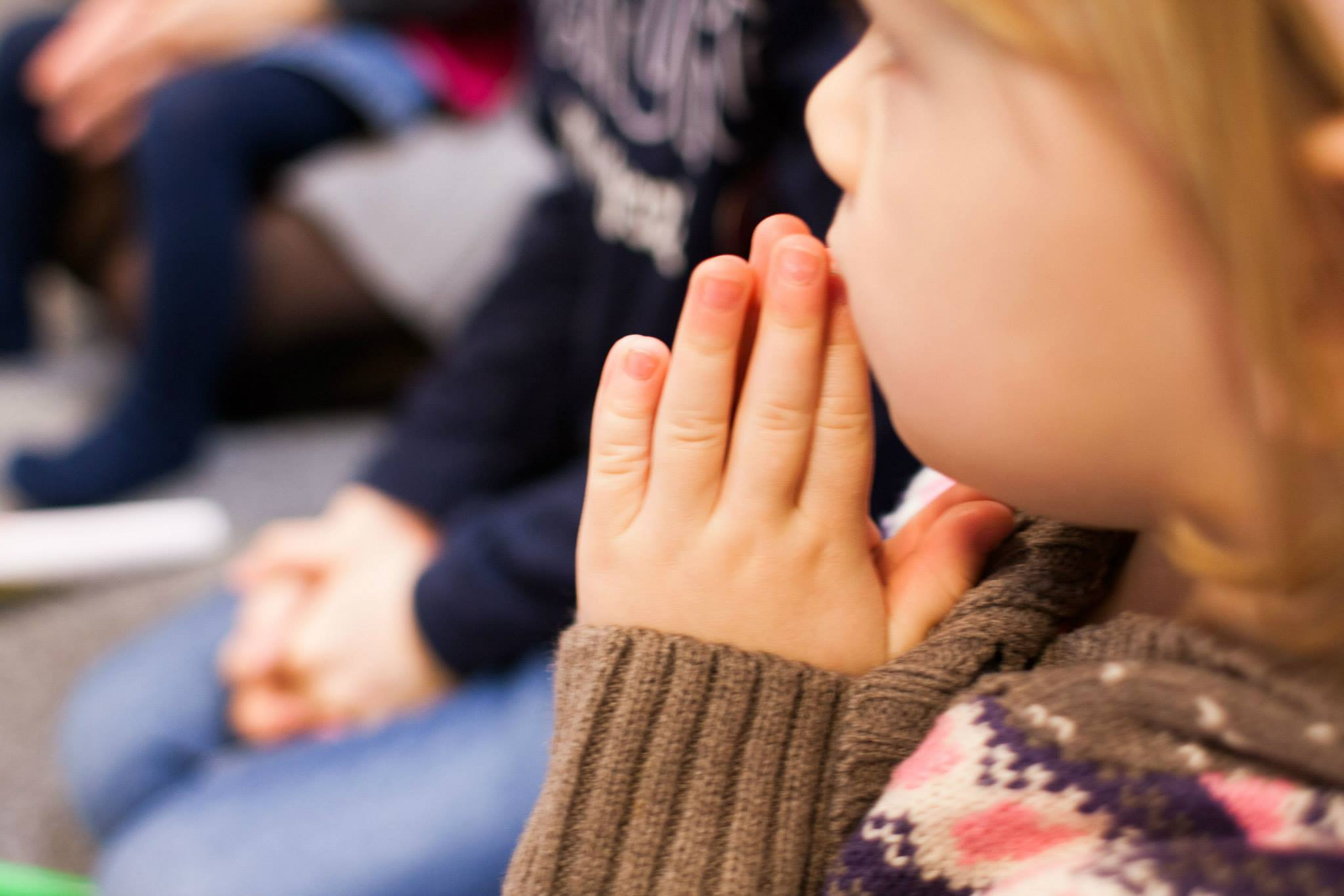 lekcje oczywiście zakończyły wspólną modlitwą :)