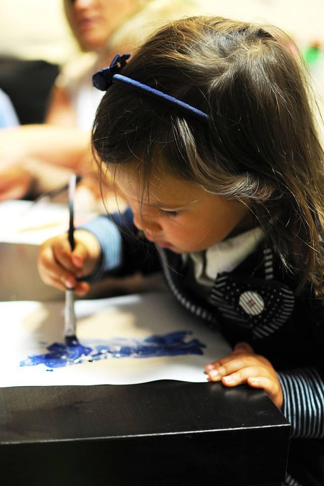 rozmowa z Panem Bogiem to modlitwa, którą dzieci malowały, odkrywając ukryty obrazek :)