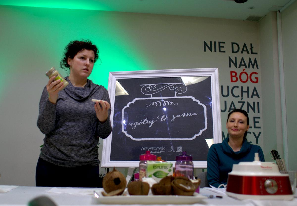 na koniec, poza programowo (brawo za odwagę, o to właśnie chodzi), wystąpiła angelika, która opowiedziała swoją historię z poznawaniem świata zdrowego jedzenia i jakie błędy popełniała. dziękujemy!
