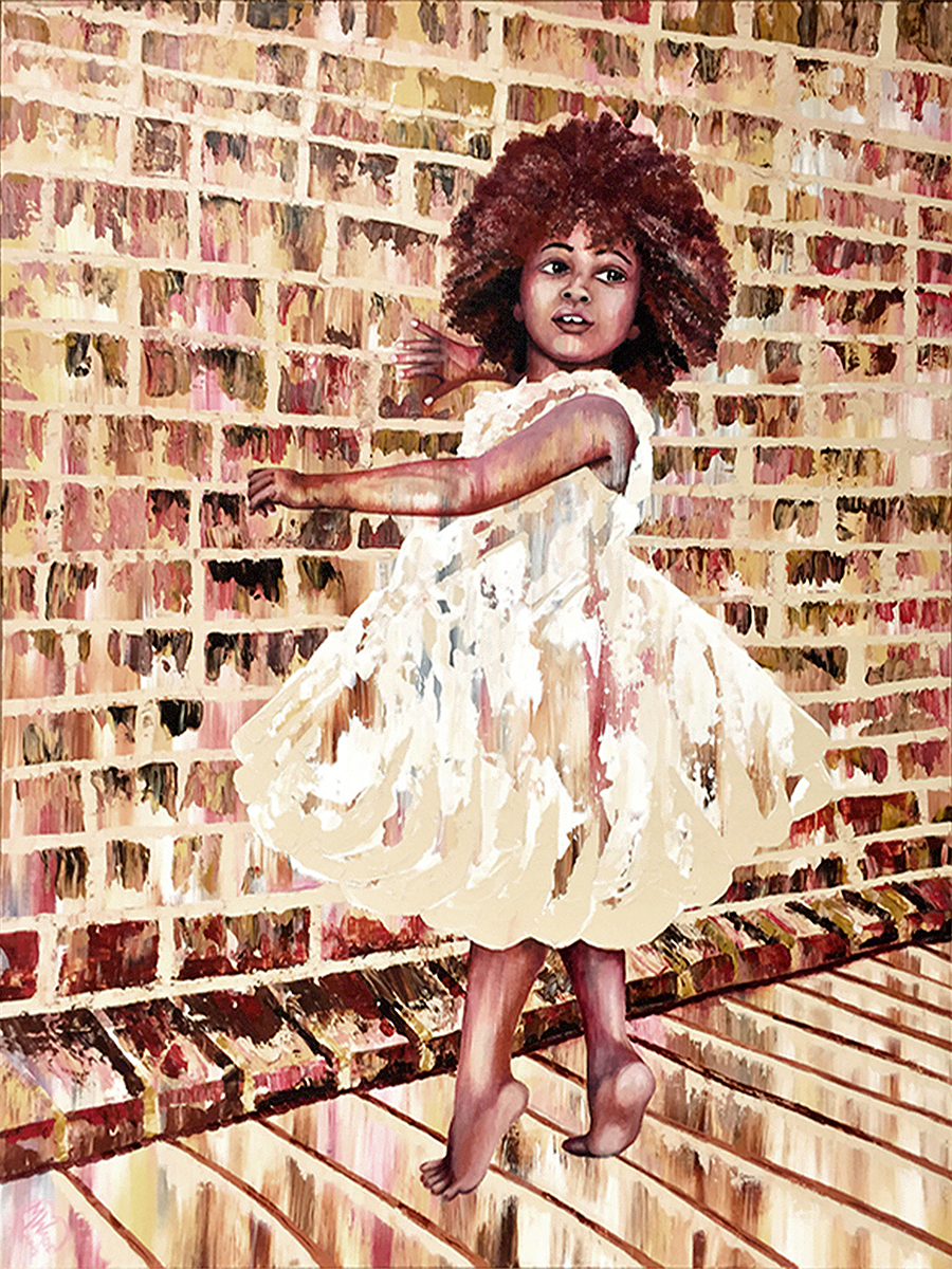 Zora the Conquerer_36x48in_by Martha Wade.jpg