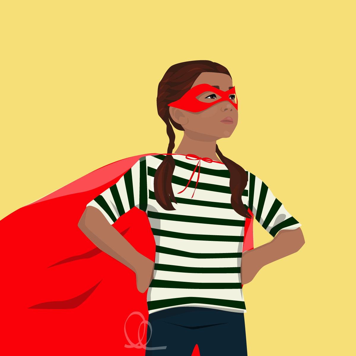 super-girl-with-cape-illustration-ll-creative.png
