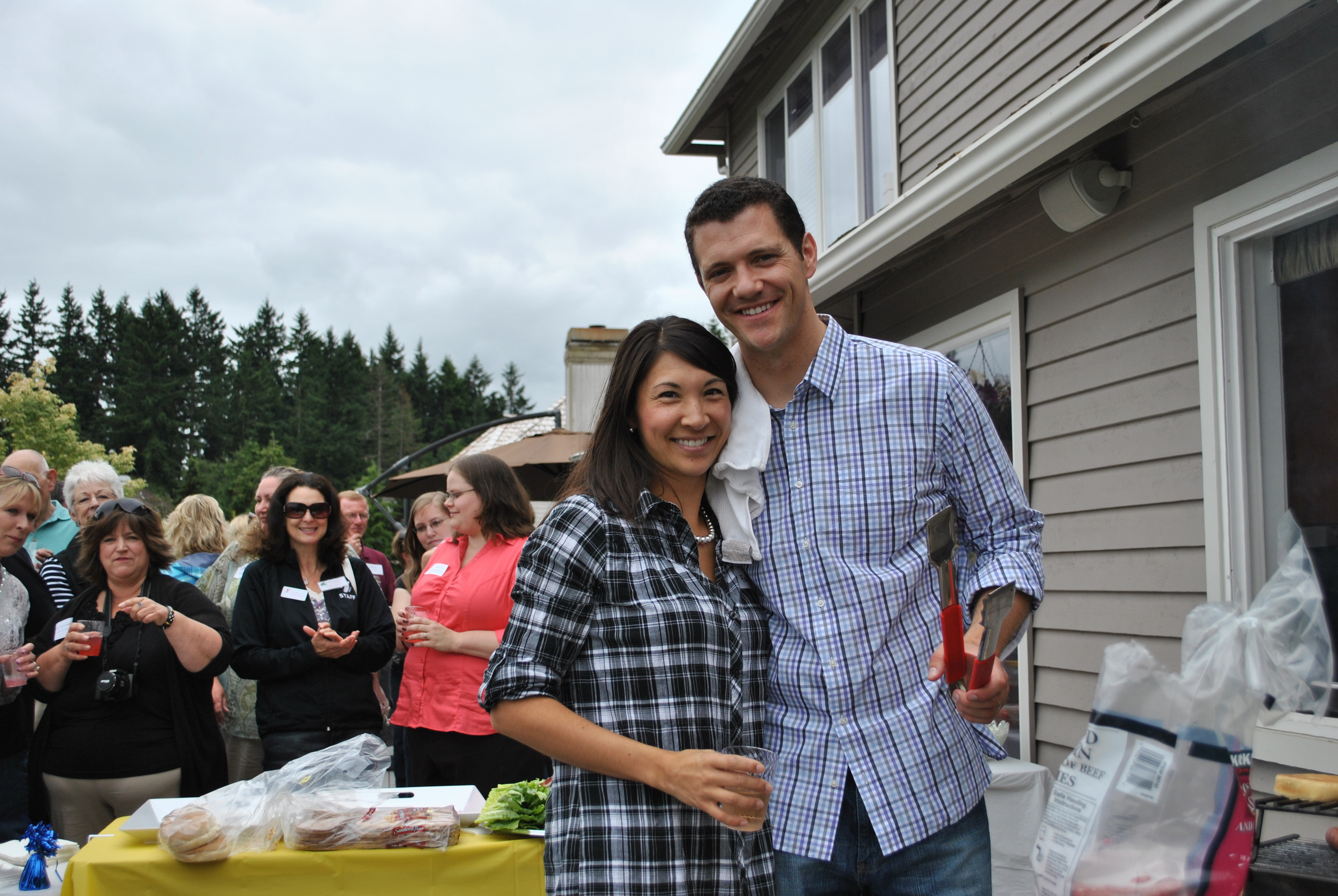 Join us after the parade for a volunteer appreciation BBQ at Joe & Steffanie's house from 1:00 - 3:00 pm. Register for more details!