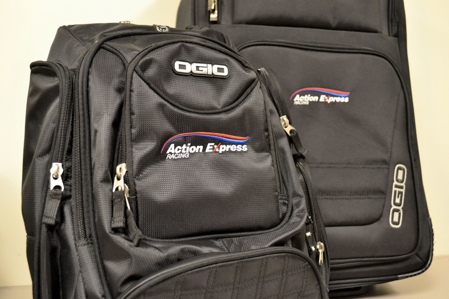 Action Express Racing Embroidered Luggage