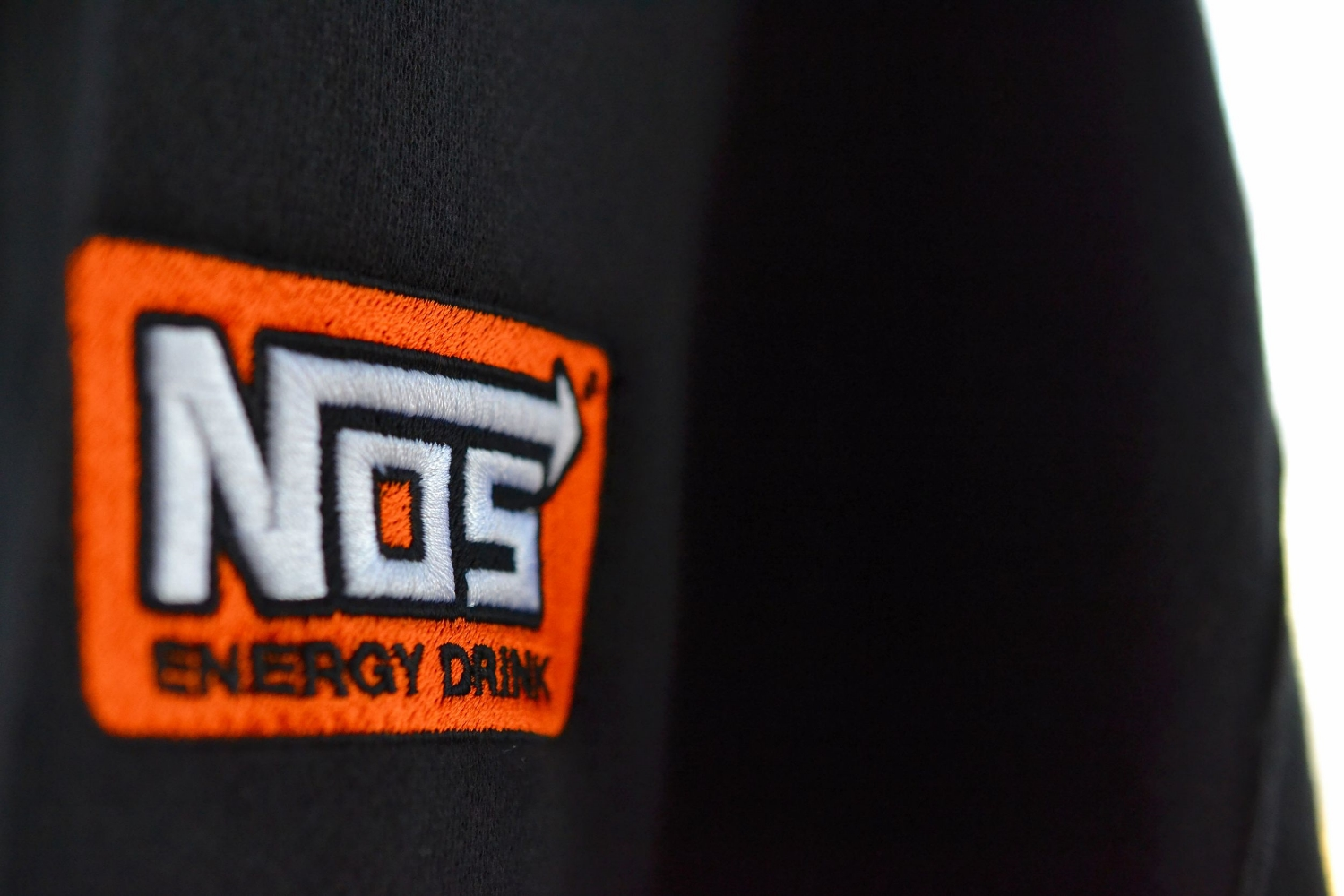 NOS Energy Drink Embroidery