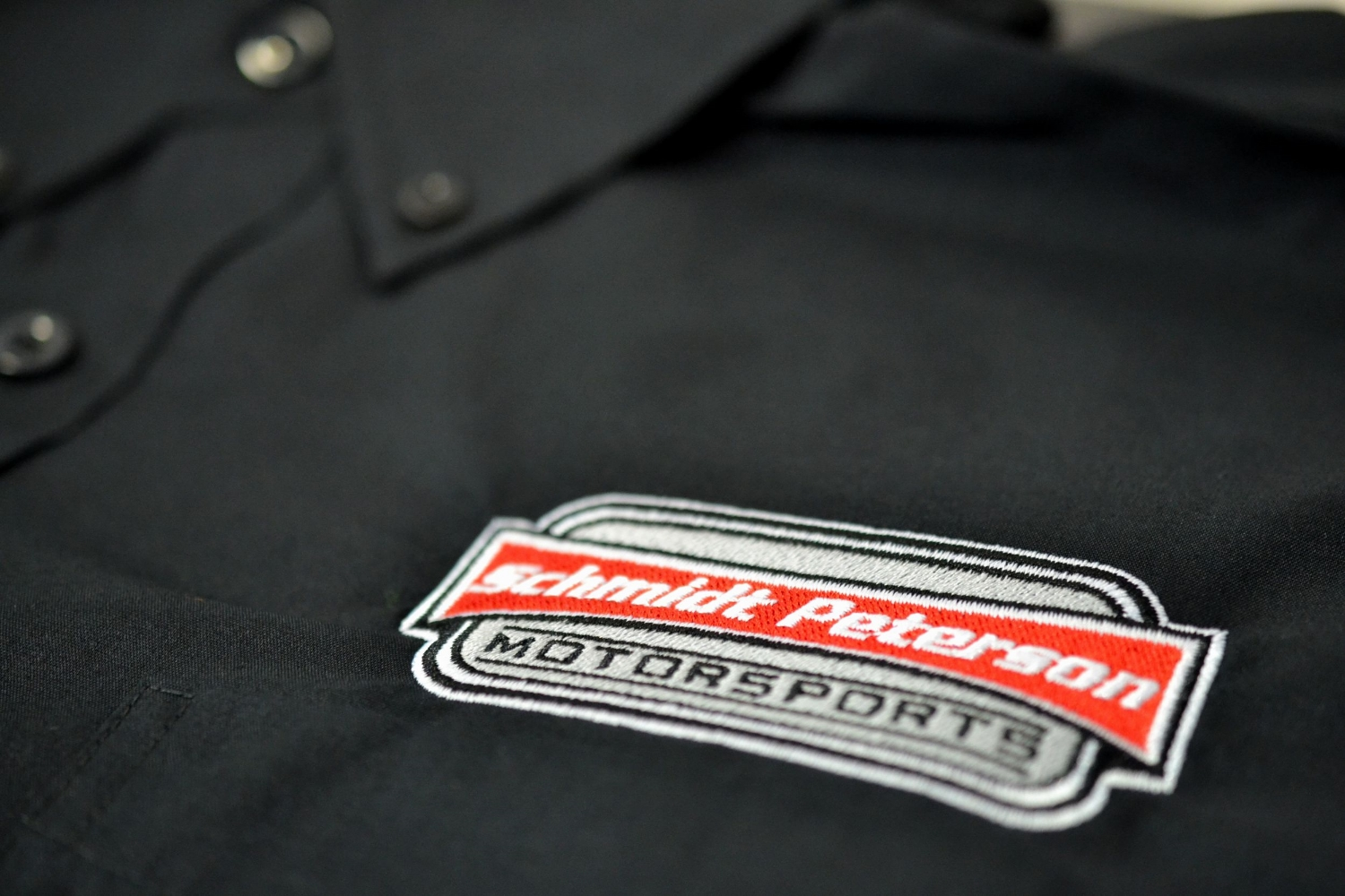 Schmidt Peterson embroidered logo