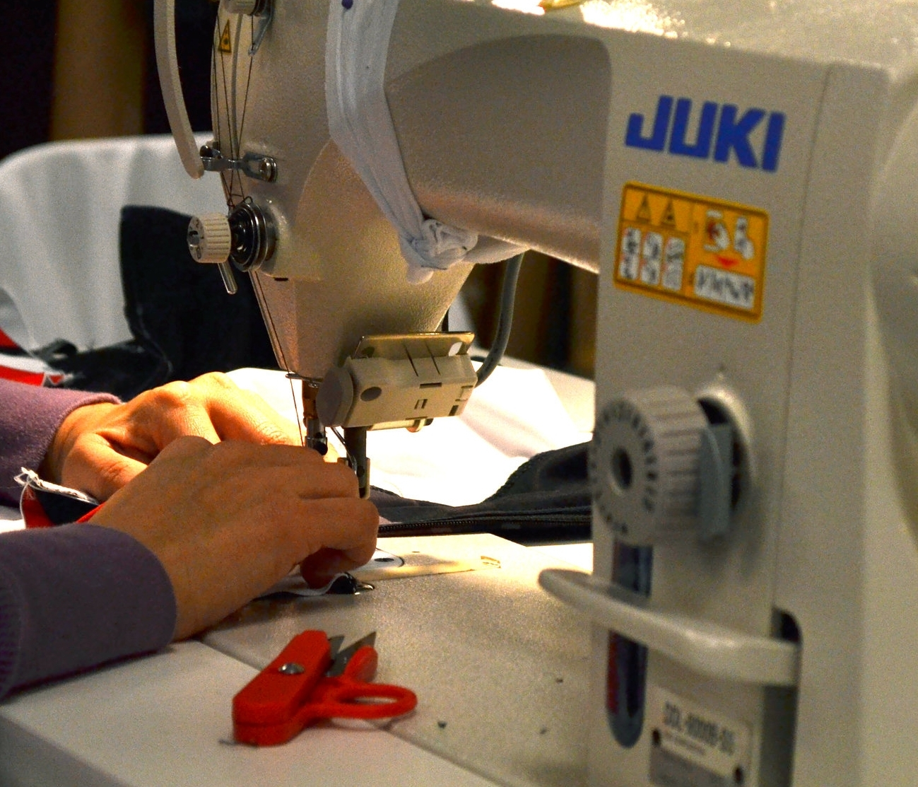 sewing-machine-textile-production