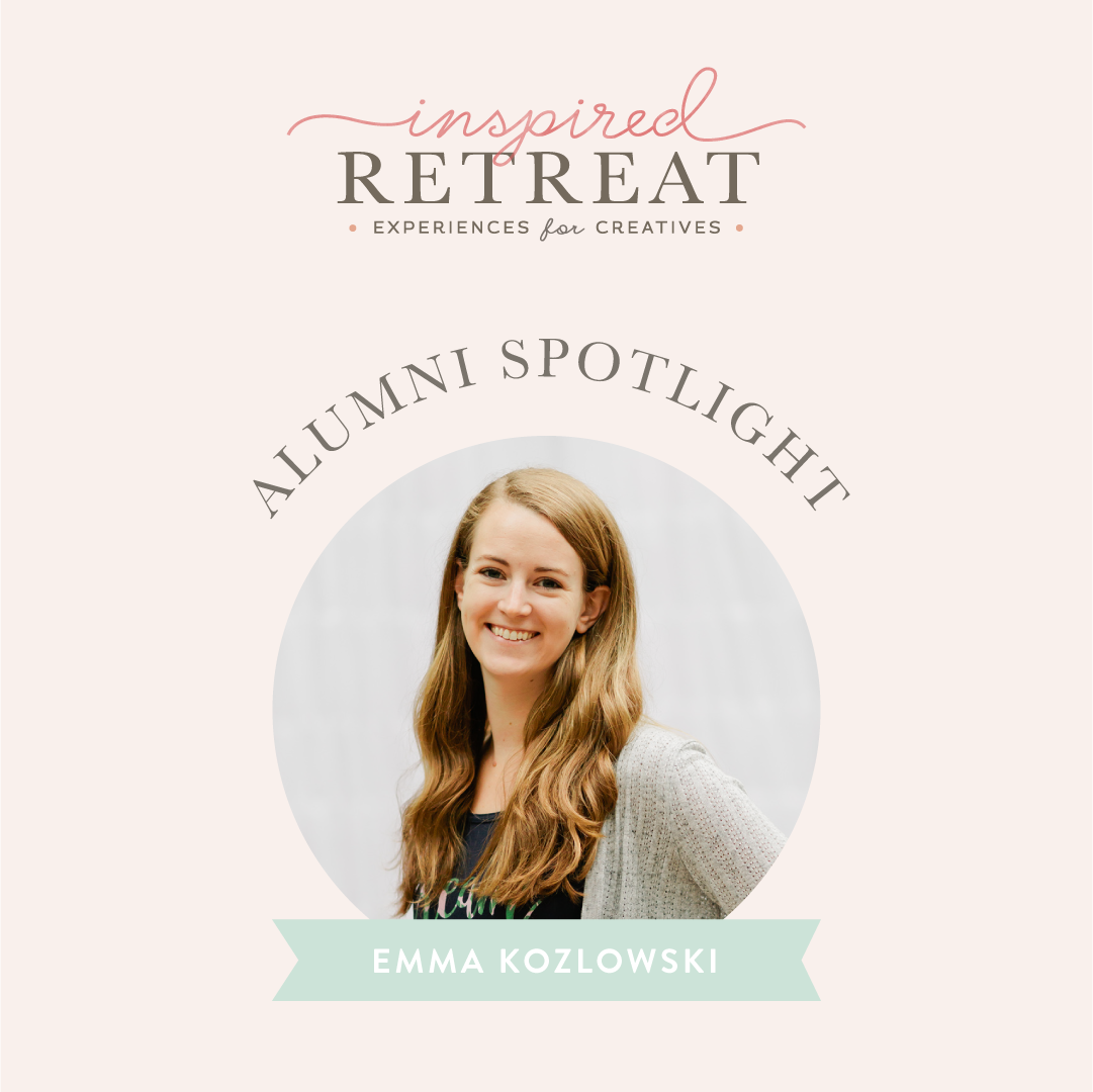 We're catching up with Inspired Retreat Alumni Emma Kozlowski! She was our May 2018 scholarship winner who used the event to regain focus and motivation for her business.