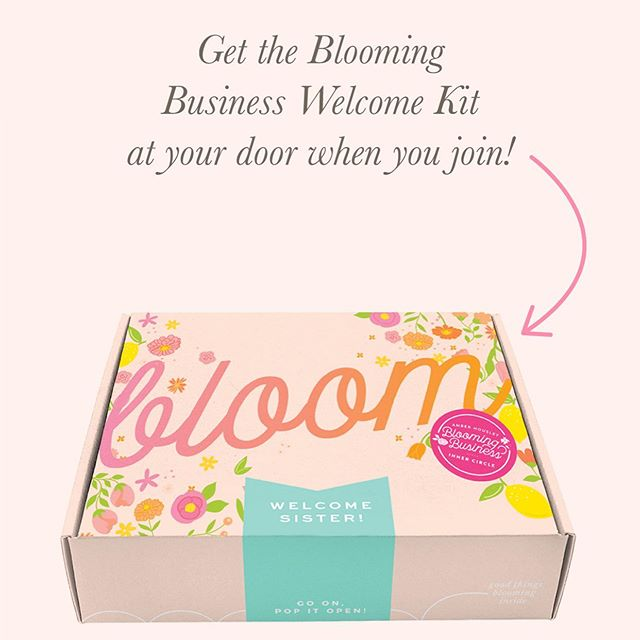 "SO friends! I'm excited to tell you that you can join the Blooming Business Inner Circle today through Sunday...& here's why it's so amazing and you won't want to wait: . . - the community of women is full of like-minded entrepreneurs crushing their biz goals ✨ - you'll get the best marketing tools+resources sent straight to your door 🚪 - every month you'll receive a brand new kit that will be full of ways to help grow your business 🌱 - you'll get FREE tickets to Bloom&Grow Live in November located in Nashville, TN 🌆 - a FB community dedicated to building each other up, asking questions & sharing those wins! ⭐️ - access to Flourish: a 5 day marketing course for FREE! - monthly live Q&A calls, bonus trainings, & so much more! . . That is a lot, huh? That's why you don't want to wait to join! Have a question or want to get in the inner circle right this very minute? Send us a DM that says ""yes please!"" ⭐️💗🎉 . . #sweetlifesisterhood #bloomingbusiness #innercircle #bloomingbusinessinnercircle #entrepreneur #mompreneur #august #happymail"