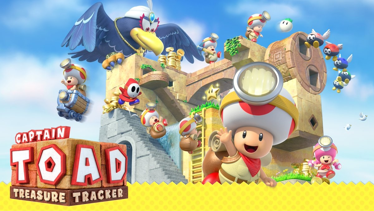 Captain Toad Treasure Tracker     Captain Toad: Treasure Tracker  is an action puzzle video game,it is a spin-off of the  Super Mario series which builds upon an uncommon type of level in  Super Mario 3D World .   Grimlock's Must or Bust:    Must - This is a must own for any Switch owner. One of the most clever puzzle games I have ever played. Fun and challenging, mixed with that Mario charm; do not sleep on this game.