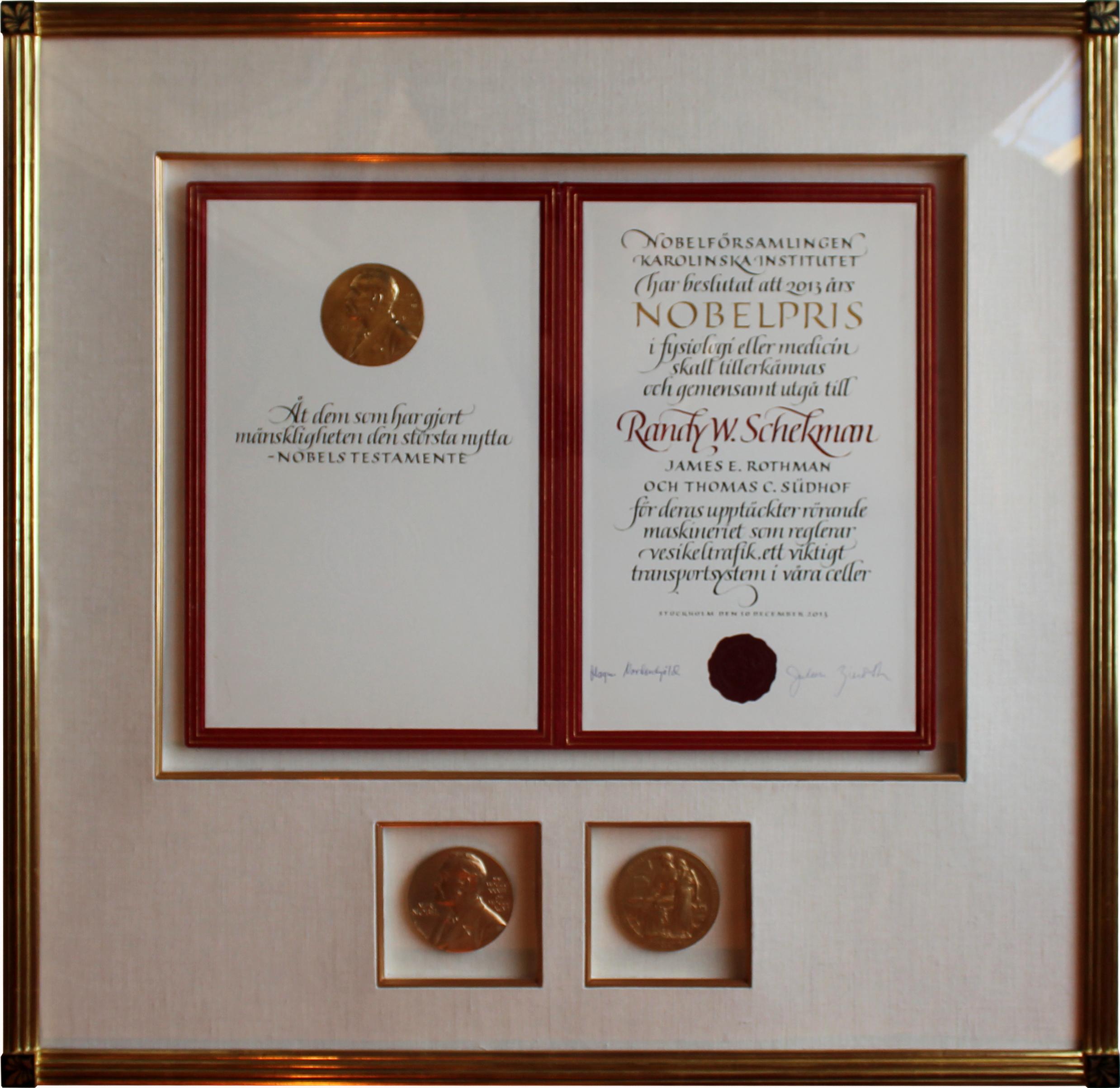 A Nobel Deed