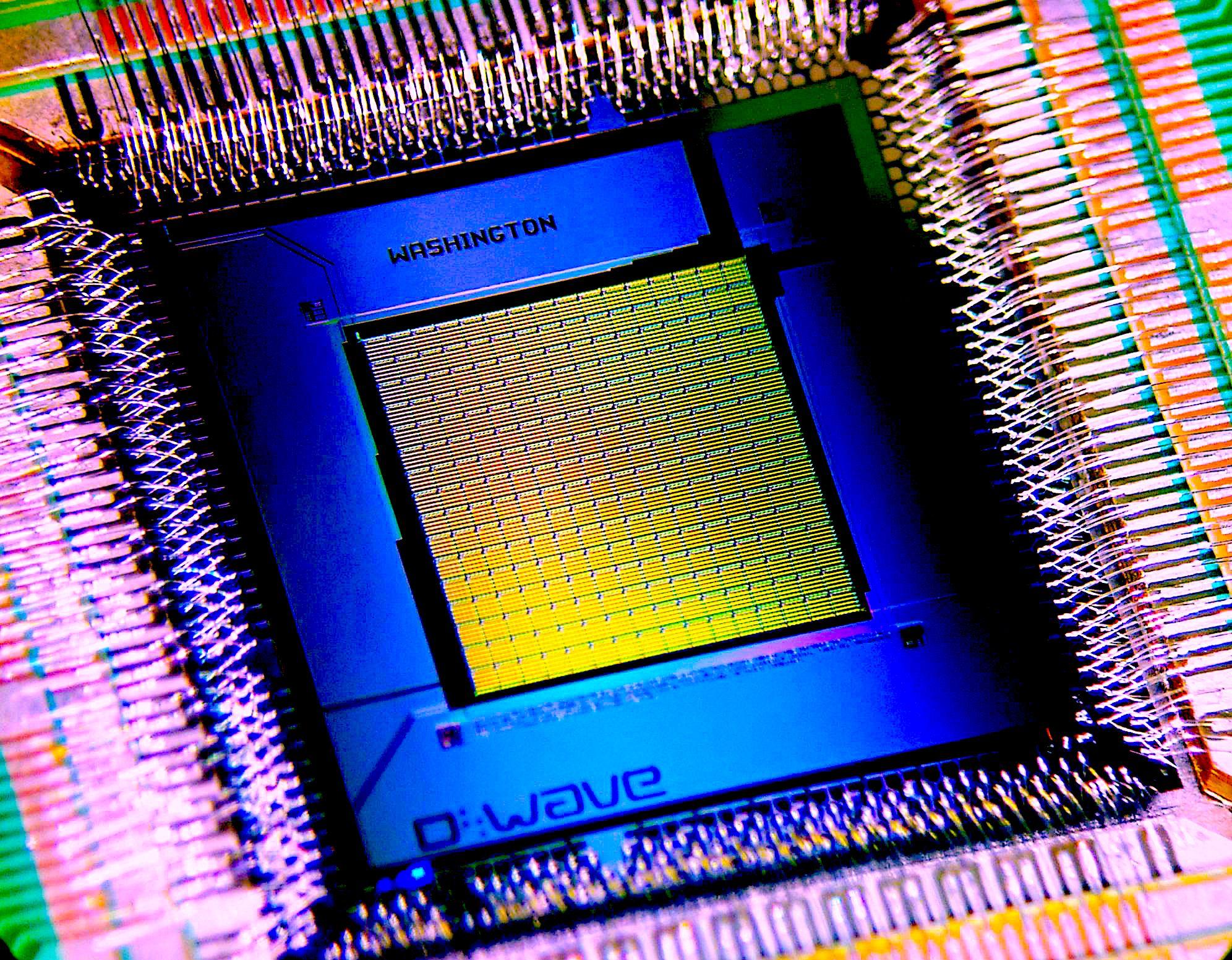 Sadly, not a 2K qubit chip,, only a 1K model...