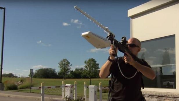 Battelle's DroneDefender Antidrone Countermeasure