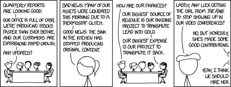 via   the comic content delivery system known as    Randal Munroe   at    XKCD   !