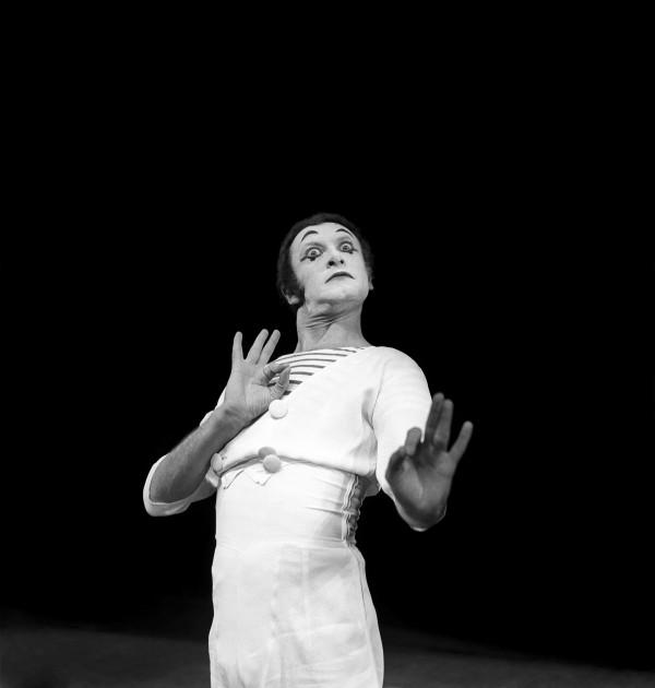 Hommage à Marcel Marceau  [b. 1923 - d. 2007]