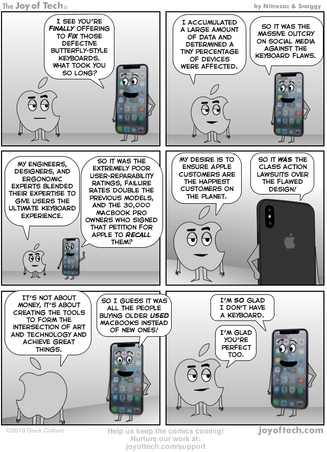via    the Comic Genius of    Nitrozac   and    Snaggy    at    The Joy of Tech®!