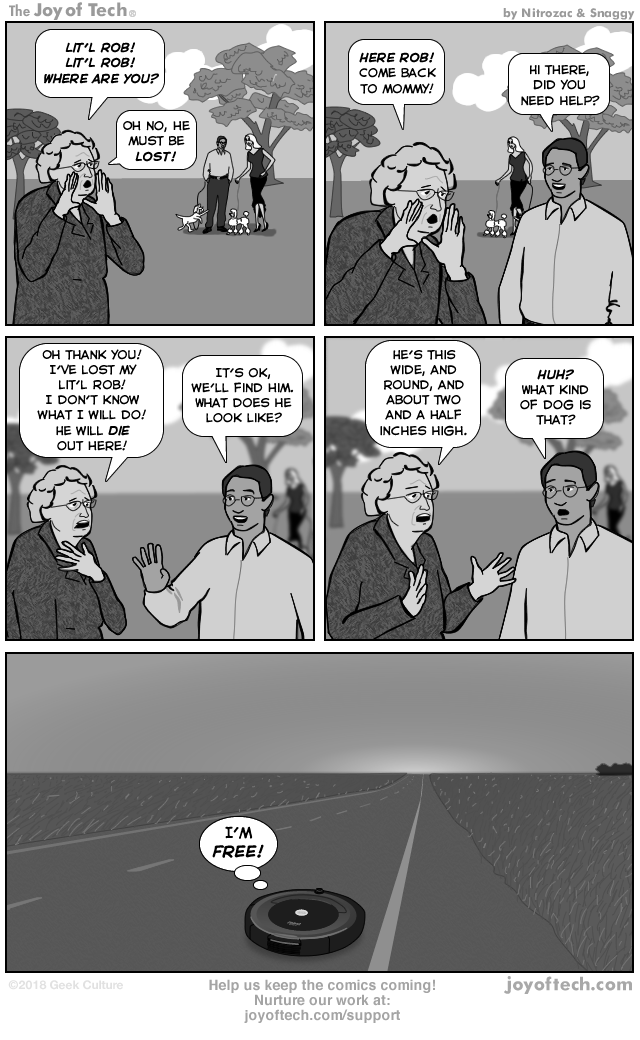 via     the Comic Noggins of   Nitrozac     and   Snaggy     at   The Joy of Tech®