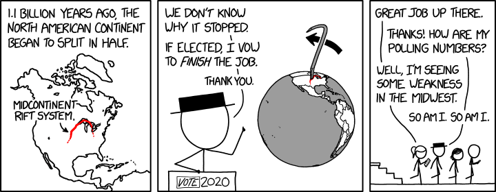 via   the comic delivery biologic system monikered   Randall Munroe   at   XKCD  !