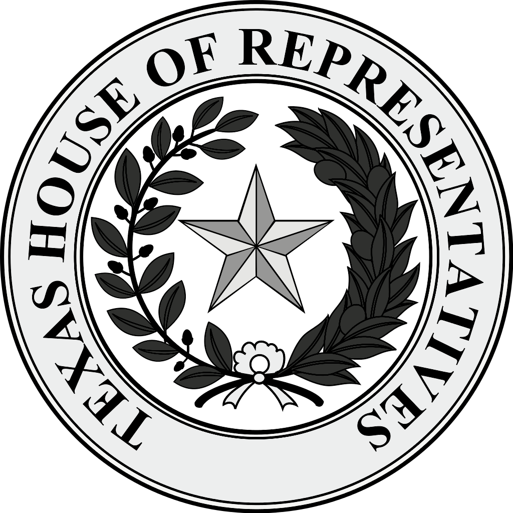 Great Seal of the State of Texas House of Representatives