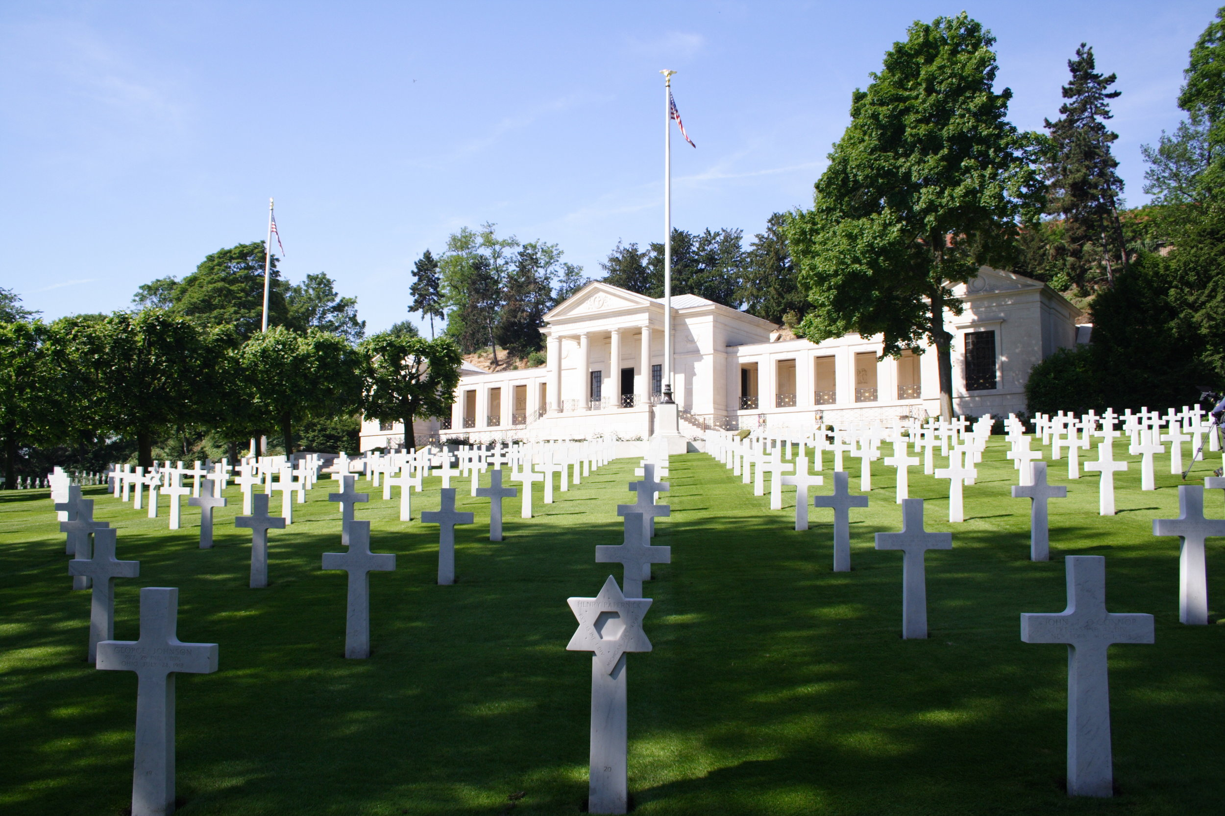 Image Courtesy of  American Battle Monuments Commission   Suresnes American Cemetery