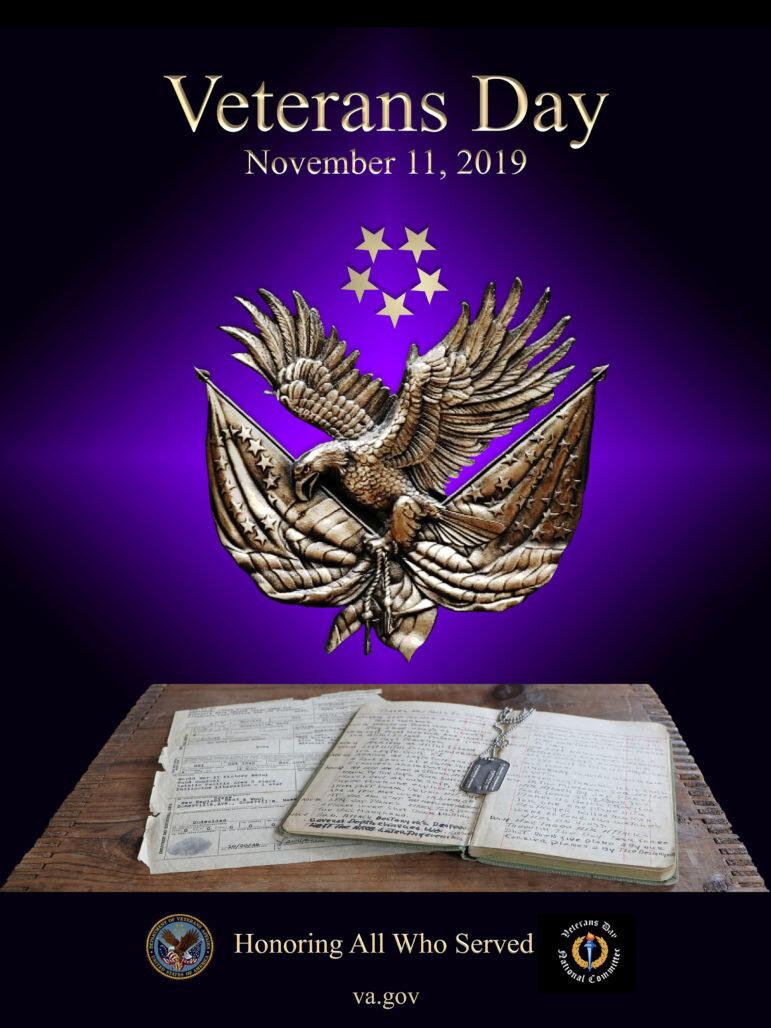 Official US Veterans Day Poster Designed by Bedford VA's Teresa Harrington