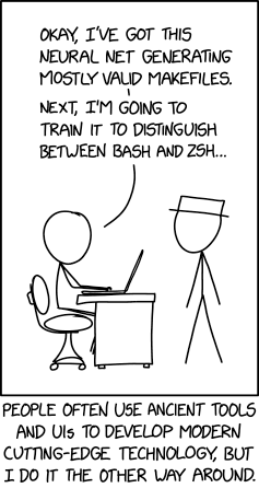 via the comic artistry and dry wit of Randall Munroe, resident at XKCD!