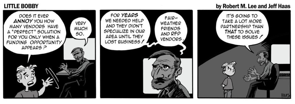 via the respected security expertise of Robert M. Lee and the superlative illustration talents of Jeff Haas at Little Bobby Comic