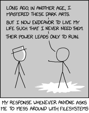 XKCD 'Dark Arts'
