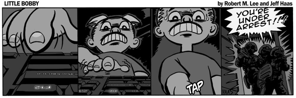 Robert M. Lee's & Jeff Haas' Little Bobby Comic - 'WEEK 352'