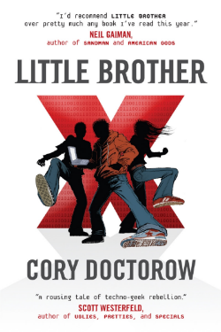 Little Brother by Cory Doctorow ~ book review from www.CompulsivelyQuirky.com