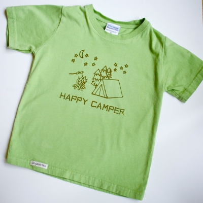 Gifts for Tree-Hugging Kiddos - Happy Camper T-shirt