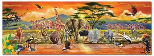 Gifts for Tree-Hugging Kiddos - Safari Floor Puzzle