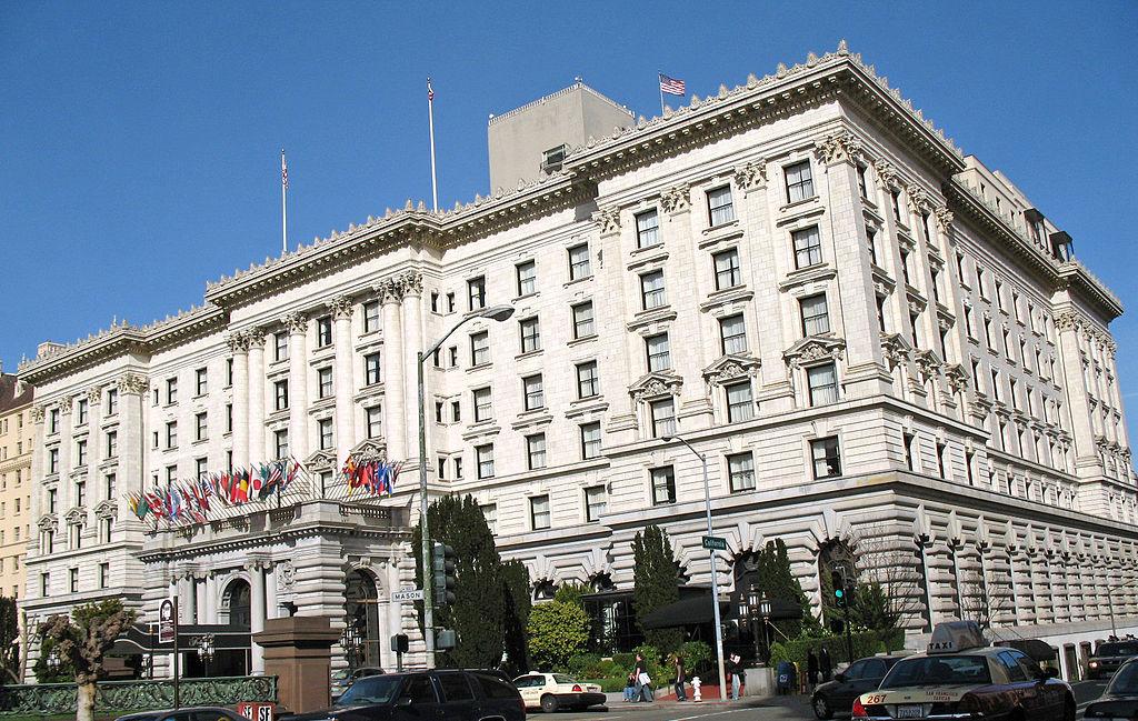 The Fairmont Hotel. Photo : Sanfranman59