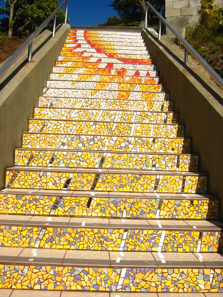 photo: 16th ave. tiled steps project
