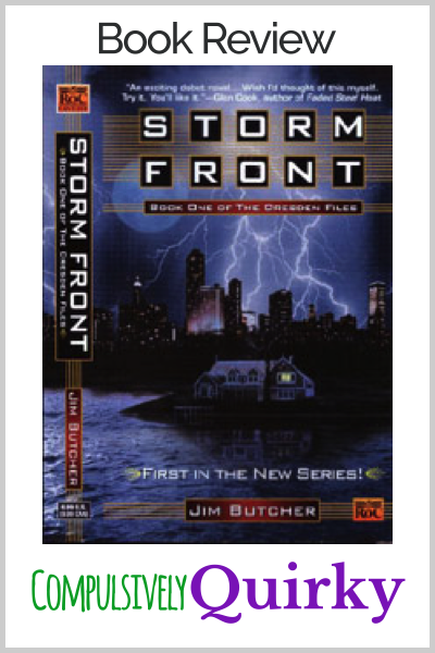 Dresden Files Series: Storm Front by Jim Butcher ~ book review for this first installment in the Dresden Files urban fantasy series