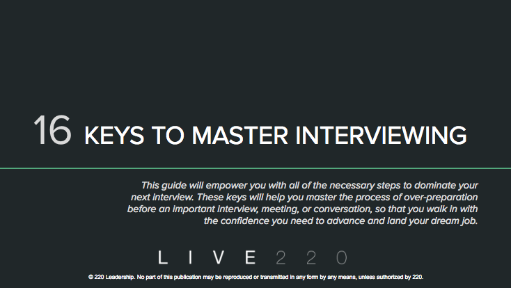 Use this guide to prepare for your virtual or in-person interviews
