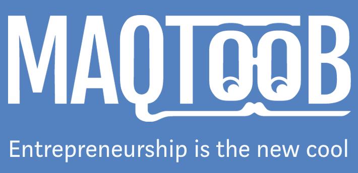 MAQTOOB for Entrepreneurs