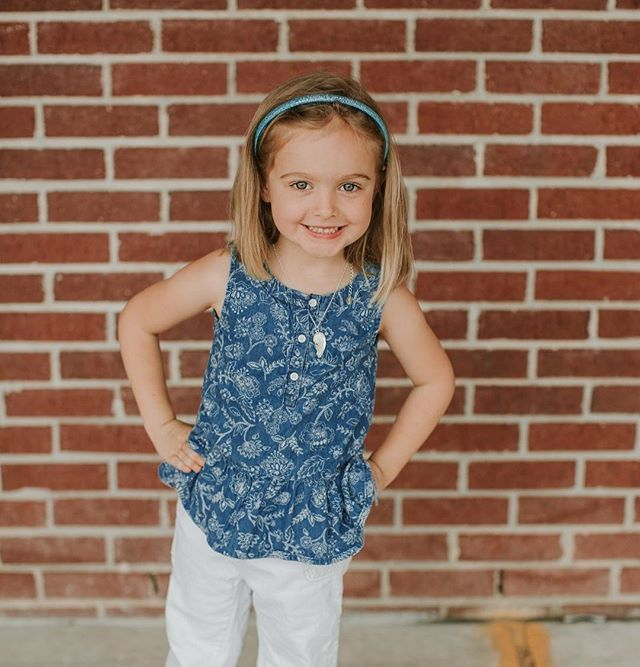 It's official, she's a kindergartener!