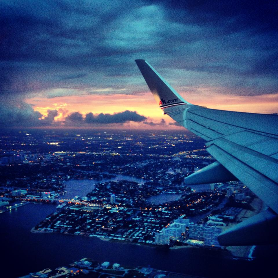 FLYING OVER BRAZIL