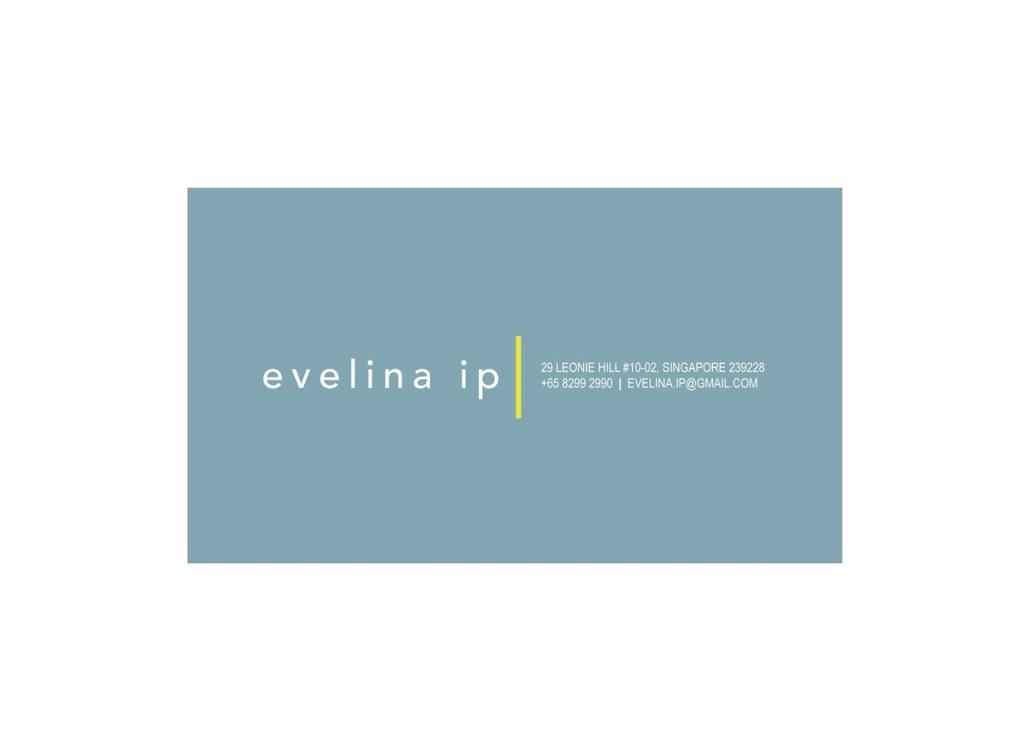 BUSINESS CARD | EVELINA IP