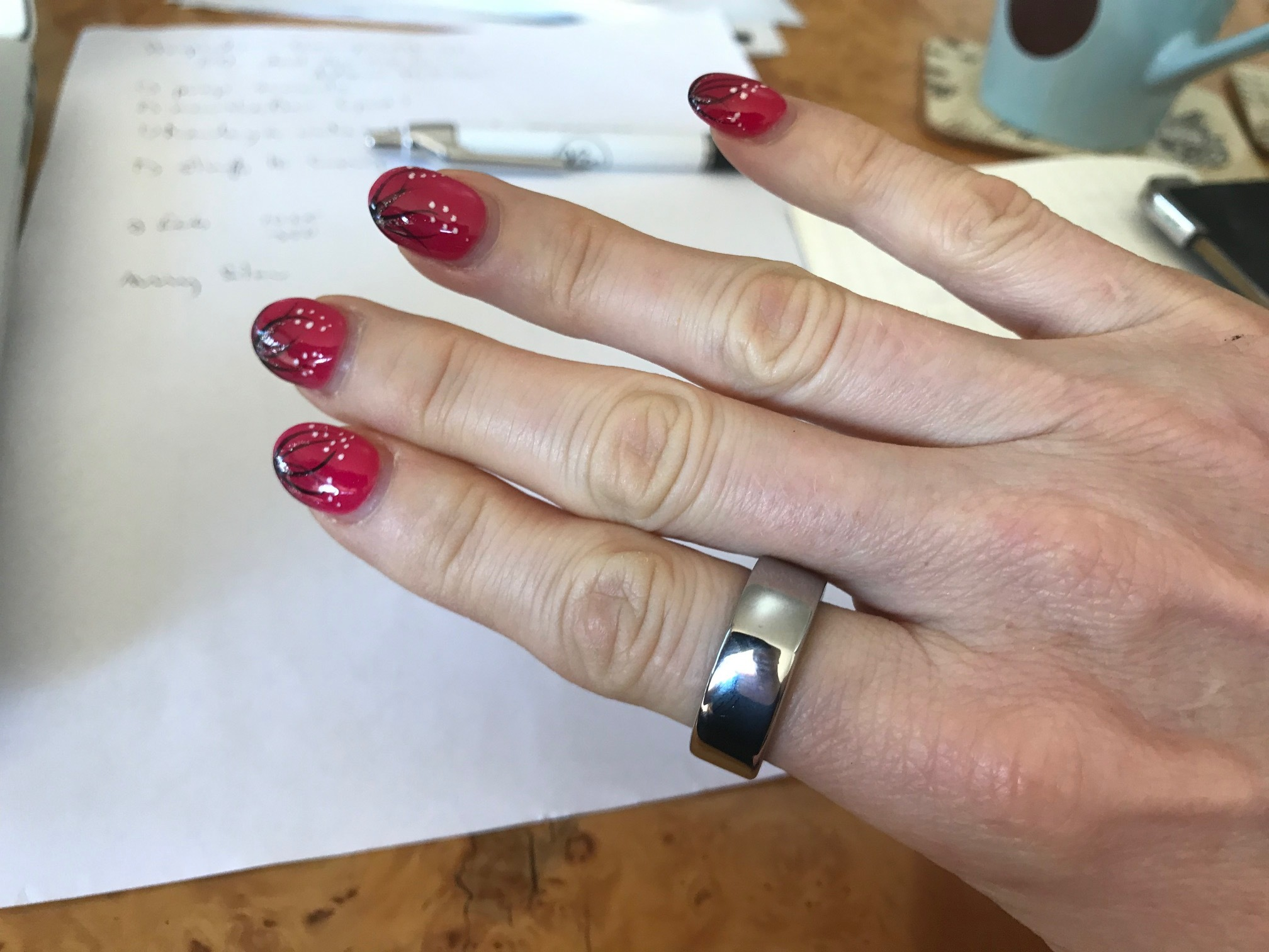 The Oura Ring in action